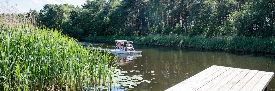 Organizuojamos įvairios laisvalaikio praleidimo veiklos, žvejyba, vandens dviračiai ir kt.